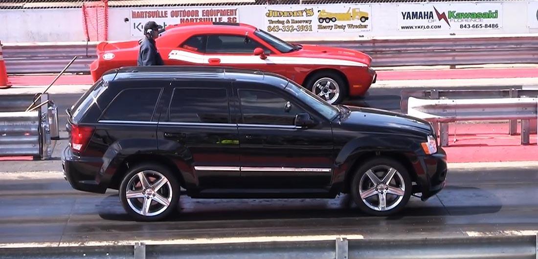 Darlington 2013 Jeep vs Chally