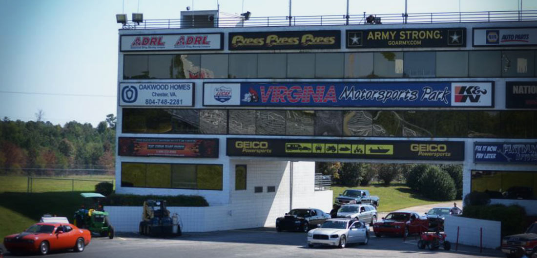 Virginia Motorsports Park -tower